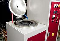 Высокотемпературная лабораторная вакуумная печь с зоной нагрева из графита серии LF